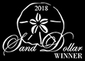 Sand DOllar Award WInner 2018