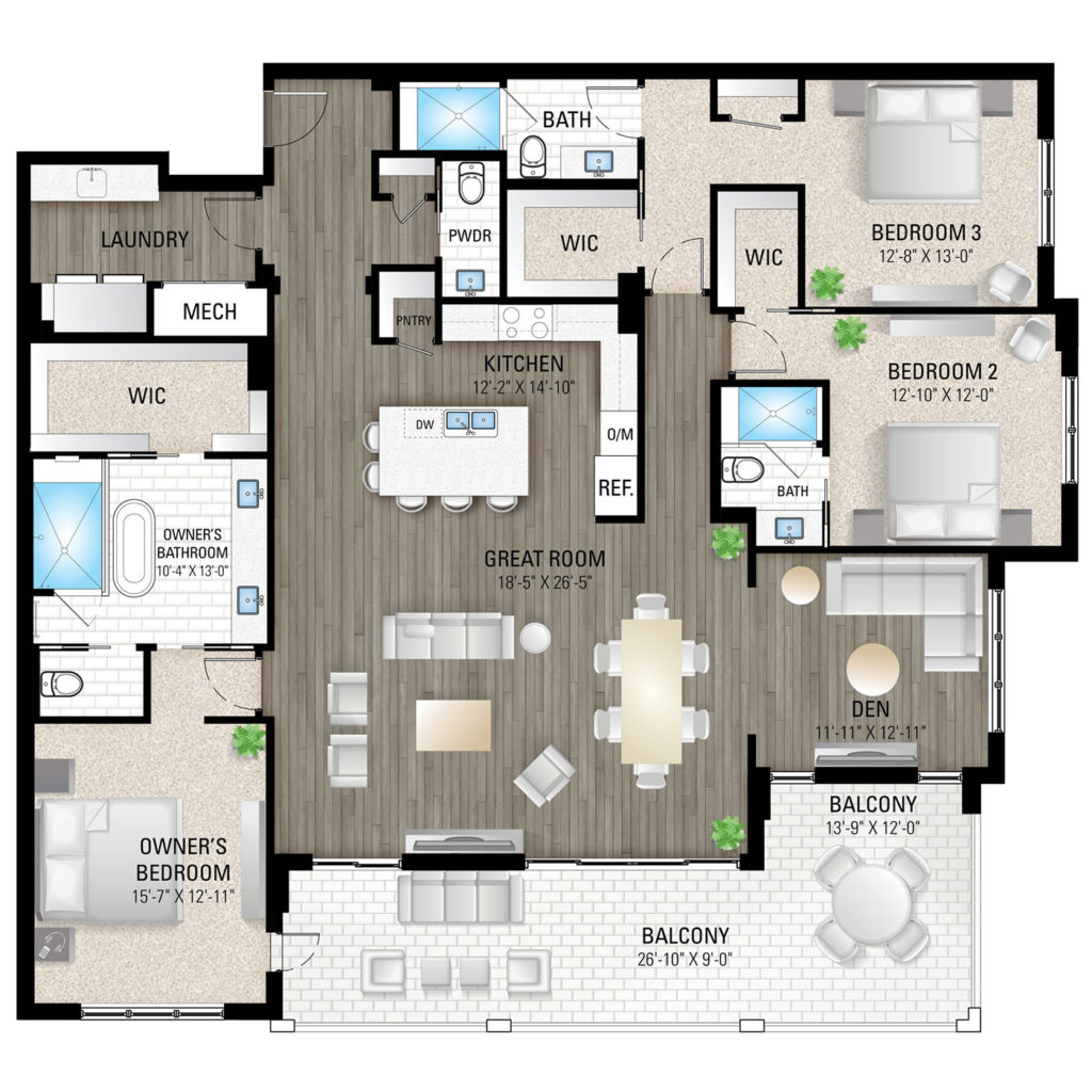 Delnor 1 Floor Plan