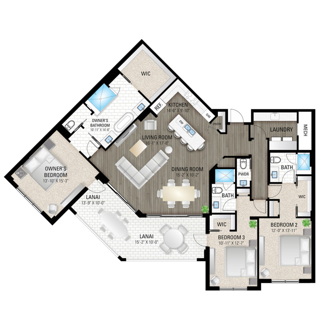 Fifth Avenue Floor Plan