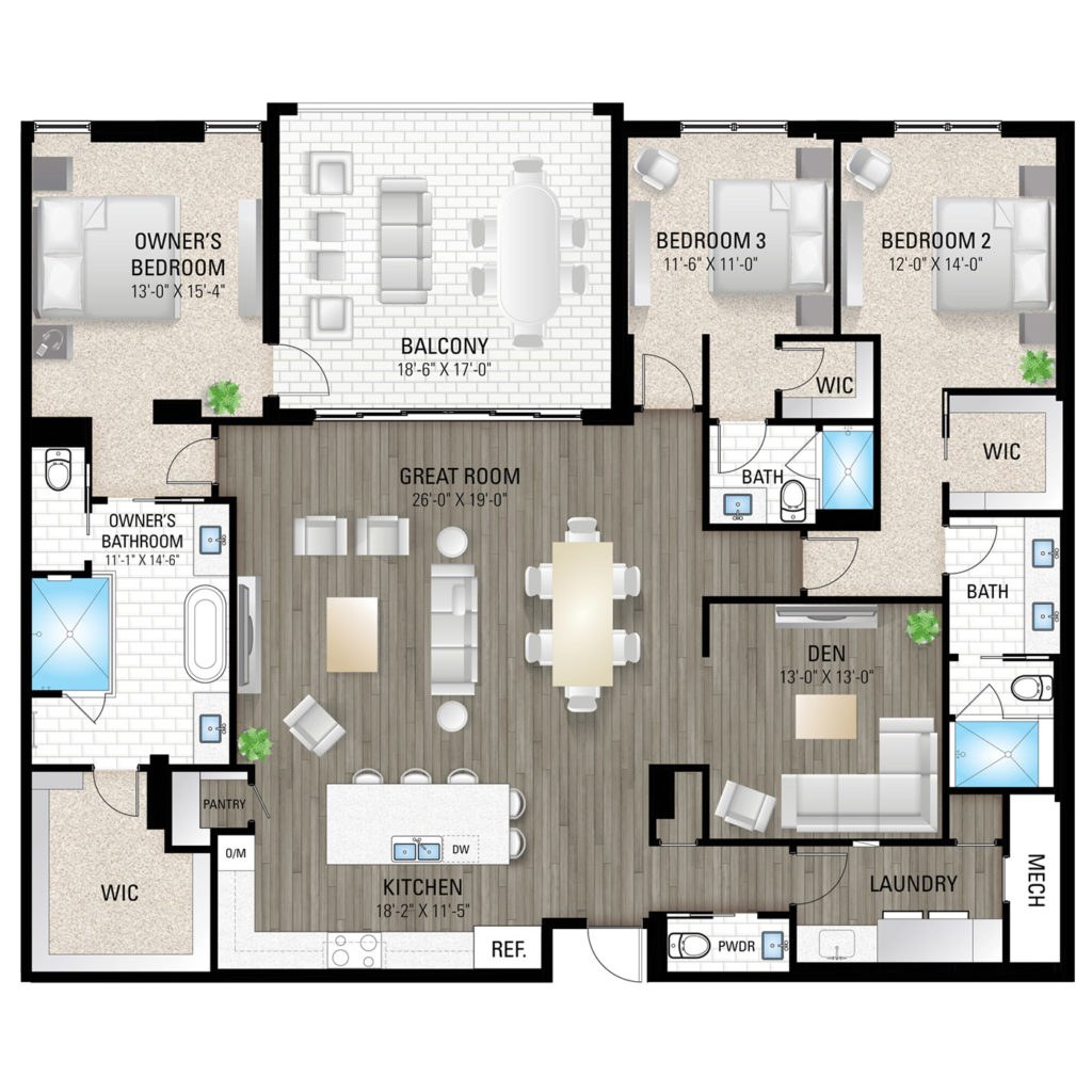 Gordon Floor Plan