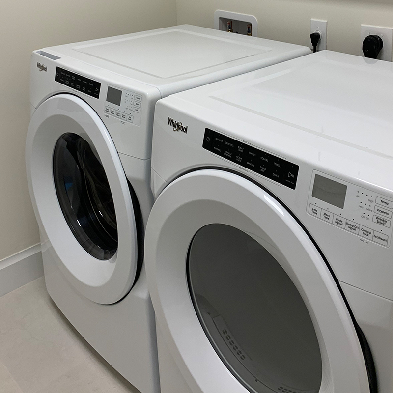 Building One Laundry Room